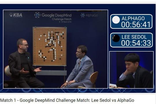 L'intelligence artificielle de Google bat le meilleur joueur de Go