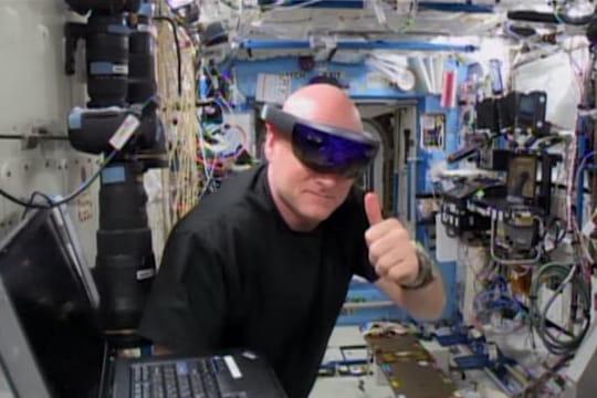 Réalité augmentée : le casque Hololens de Microsoft déjà utilisé par la Nasa