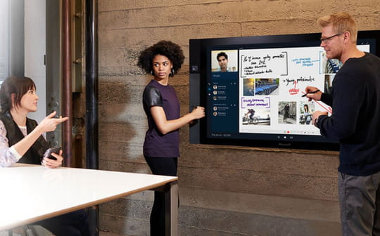 Le Microsoft Surface Hub au crible