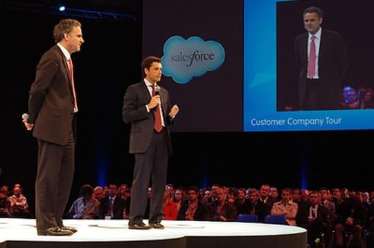 Salesforce ouvre son data center enFrance