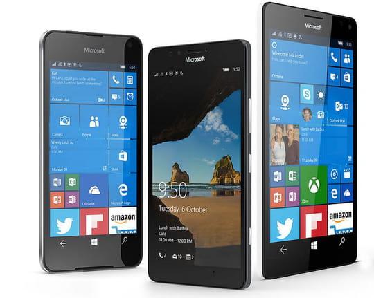 Microsoft recentre Windows10 Mobile sur l'entreprise
