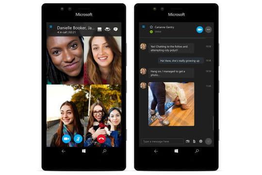 """Windows 10 : la nouvelle app Skype """"universelle"""" arrive en bêta sur les PC et les mobiles"""