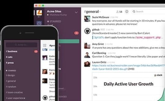Slack intègre nativement appels et conférences téléphoniques