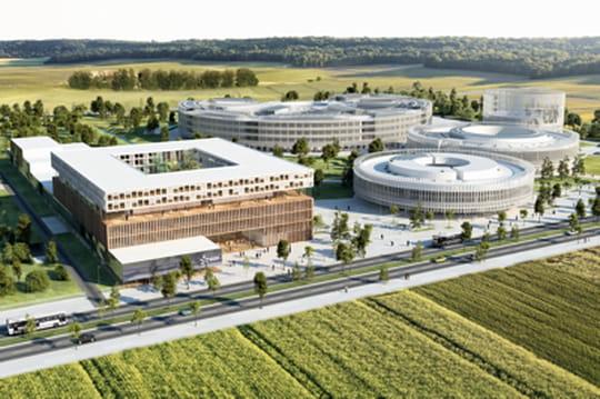 Campus EDF de Saclay