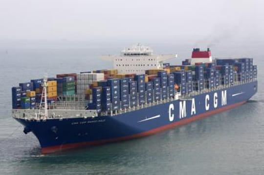 Le plus grand porte-conteneurs du monde