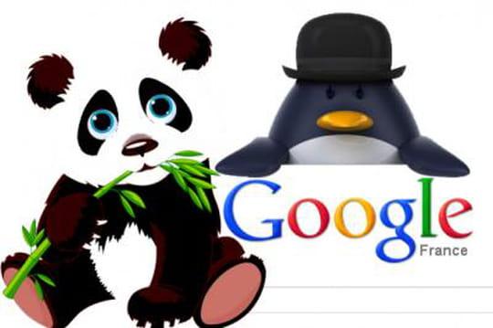 Calendrier Google Penguin et Panda Update : la chronologie