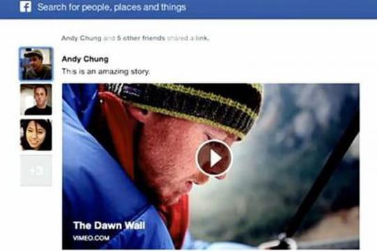 Facebook présente son nouveau fil d'actualité