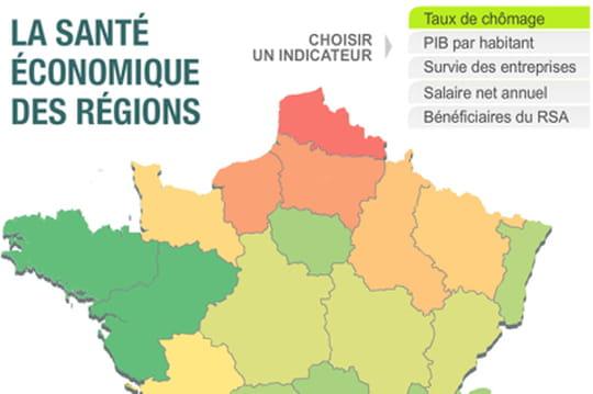 L'économie dans votre région