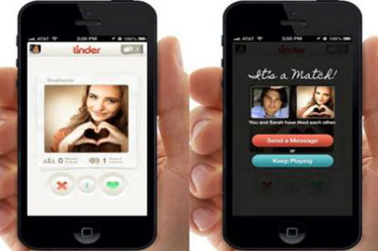 application rencontre tinder
