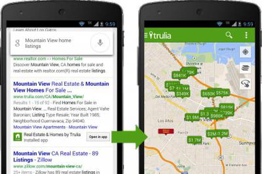 SEO : Google va indexer le contenu des applications Android