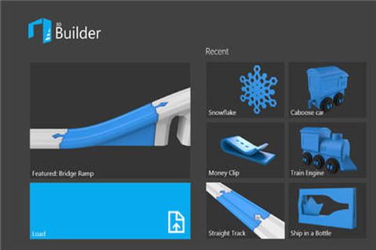 Windows 8 1 microsoft lance son app d 39 impression 3d for Salon impression 3d