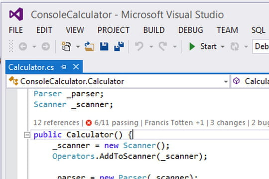 Visual Studio 2013 en images