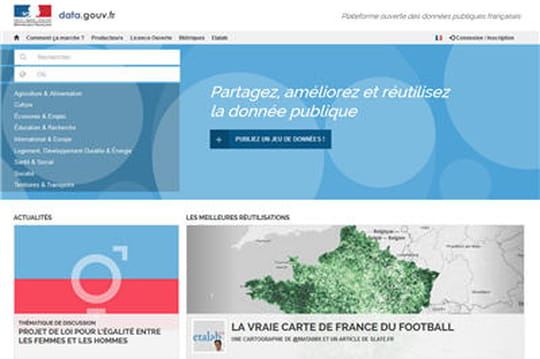 Nouveau Data.gouv.fr