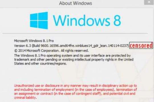 Windows 8.1 Update 1 : de nouvelles captures d'écran