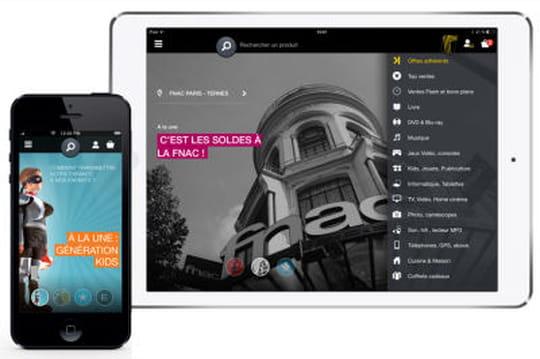 Fnac application mobile