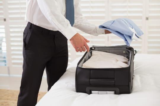Valise pour un voyage d'affaires