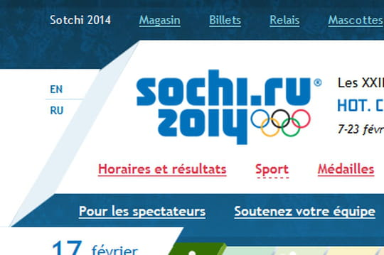 Le site des JO de Sotchi sur Windows Azure