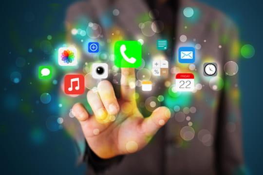 Chiffre d'affaire d'applications Facebook face à Apple et Google