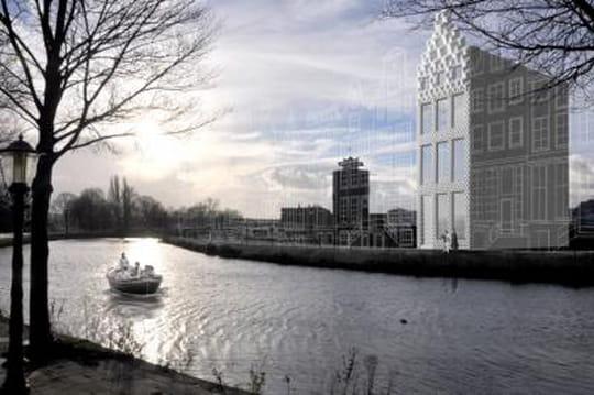 Maison en 3D à Amsterdam