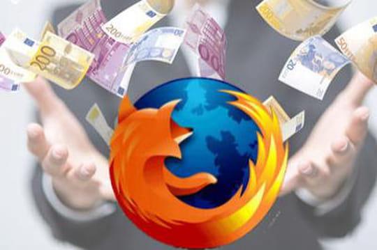 Firefox financement publicité