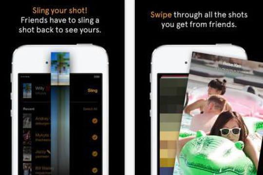 Facebook lance Slingshot, son concurrent de Snapchat