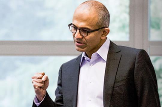 Microsoft : stratégie de Satya Nadella 0714