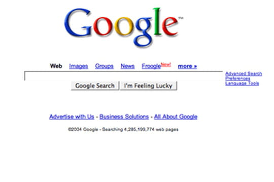 Google revendique 890améliorations dans son moteur en un an
