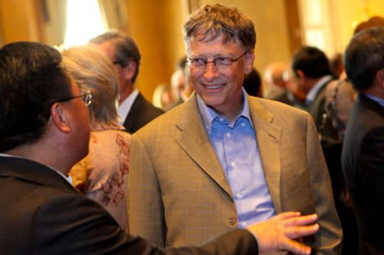 Bill Gates insolite