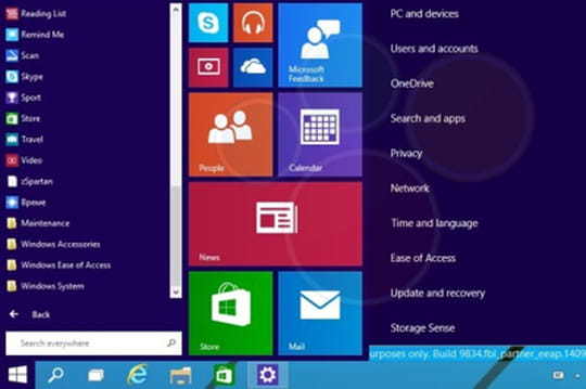 Internet Explorer 12 (Spartan) dans Windows 9 0914