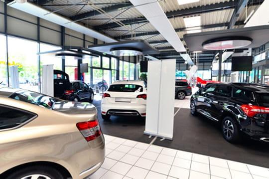 Vendeurs de voitures par département