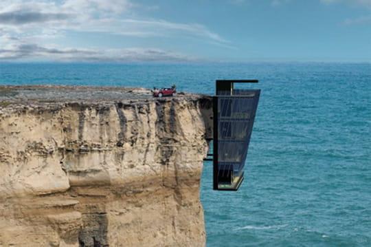 Maison falaise en Australie