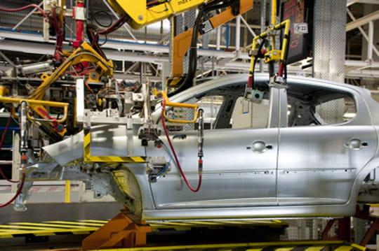 La production automobile en France selon Xerfi