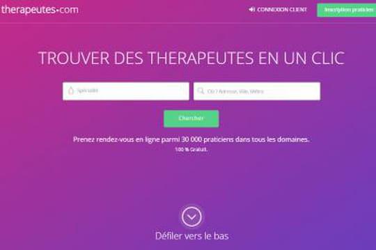 Therapeutes.com levée de fonds médecines douces 0914