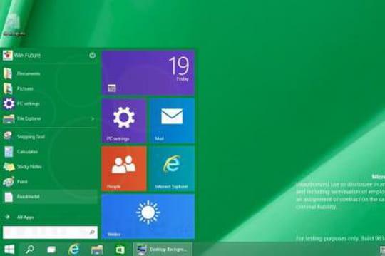 Windows TH : le nom de la préversion de Windows9?