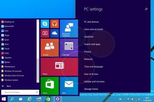Windows 9 gratuit pour tous les utilisateurs de Windows8?