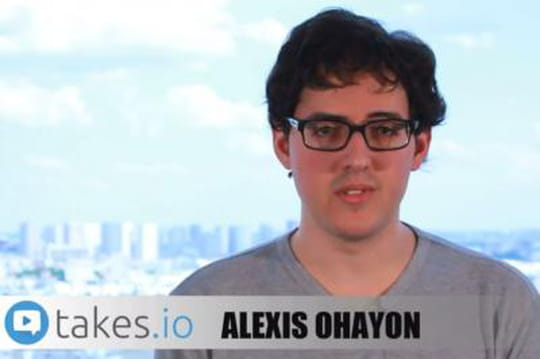 Pitch start-up Takes.io édition vidéos