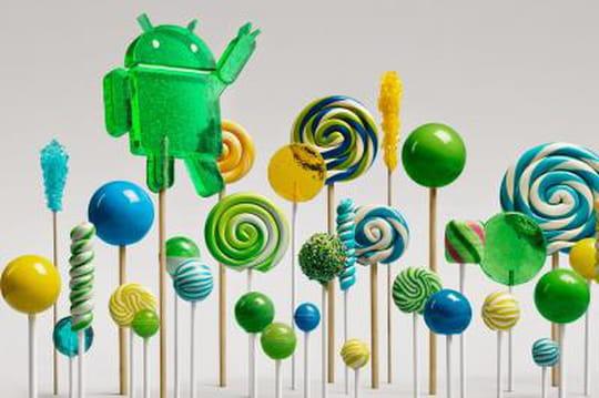 "Google lance Android 5.0 ""Lollipop"""