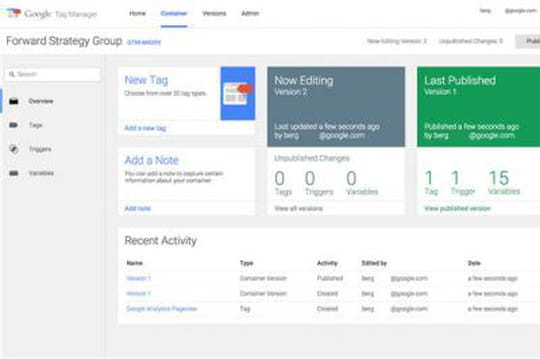 Google enrichit son Tag Manager