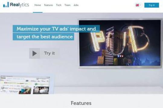 Realytics ROI publicités TV