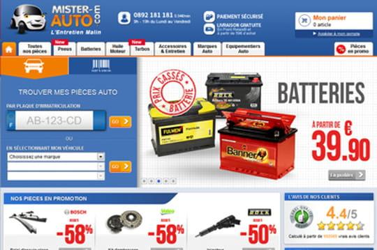 Mister-Auto.com avec le moteur de recommandation d'Antvoice