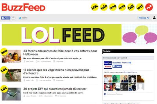 Français concurrents Buzzfeed