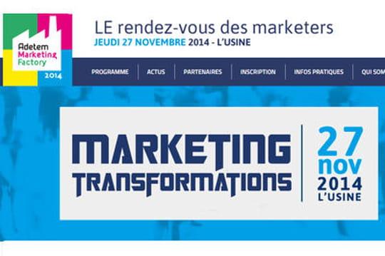 Participez à l'Adetem Marketing Factory le 27 novembre
