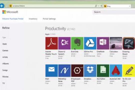 Windows 10 : Microsoft présente les App Store privés pour entreprises (112014)