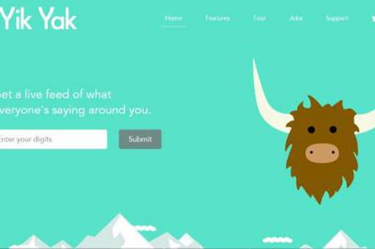 Yik Yak, l'appli anonyme qui veut concurrencer Twitter, lève 62 millions de dollars