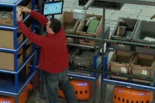 Amazon fait appel à 15000robots Kiva pour ses livraisons de Noël