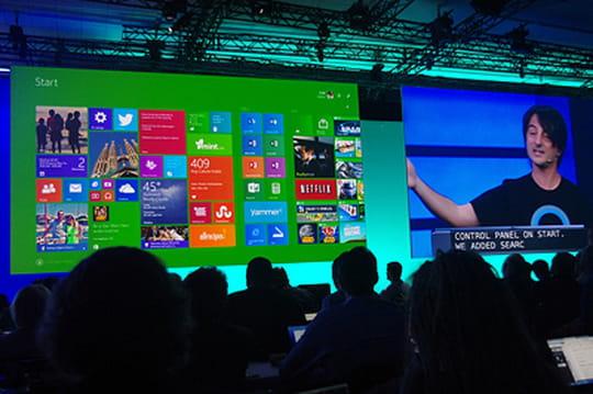 Près d'un  terminal fixe sur cinq tourne sous Windows 8 ou 8.1