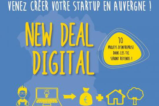 Concours : l'Auvergne loge et rémunère 10 créateurs de start-up