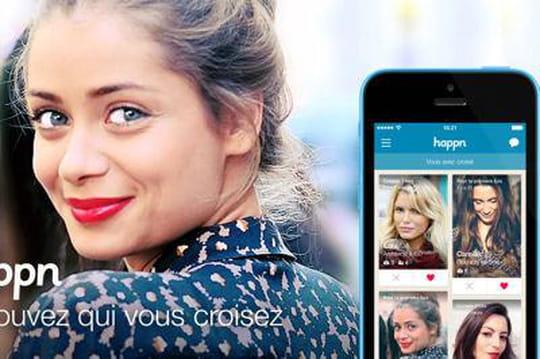 Happn, le concurrent français de Tinder, lève 8 millions de dollars