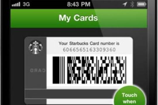 Starbucks paiement mobile