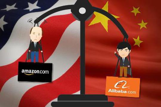Comparaison Alibaba Amazon